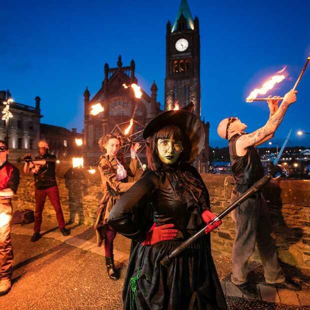 Voor het échte Halloween ga je naar Ierland, waar het 3.000 jaar geleden begon