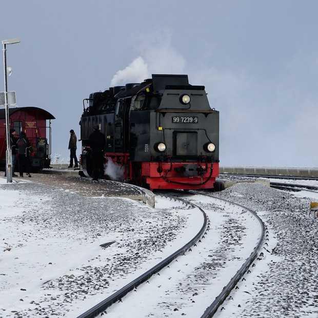 De Harz ontdekken: het populairste treintje van de Harz heet 'de Brockenbahn'