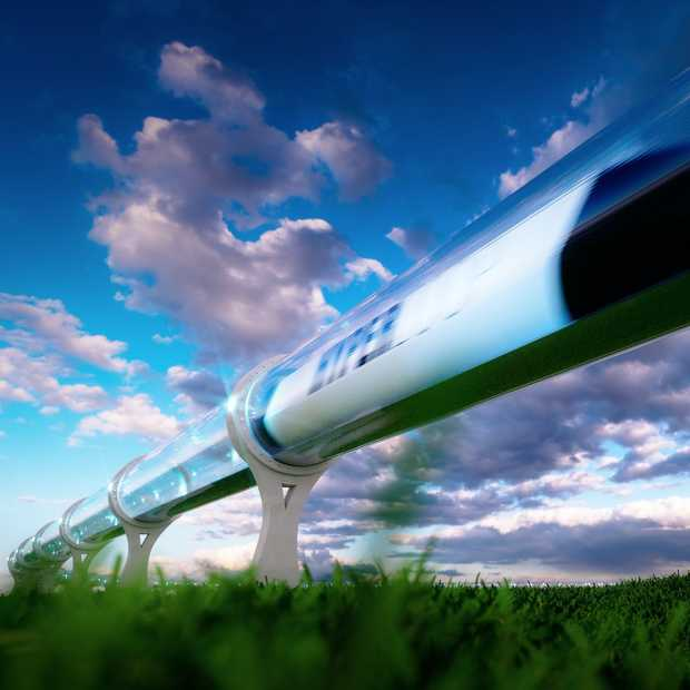 Amsterdam-Parijs in 90 min? Nog even en het kan in een hyperloop!