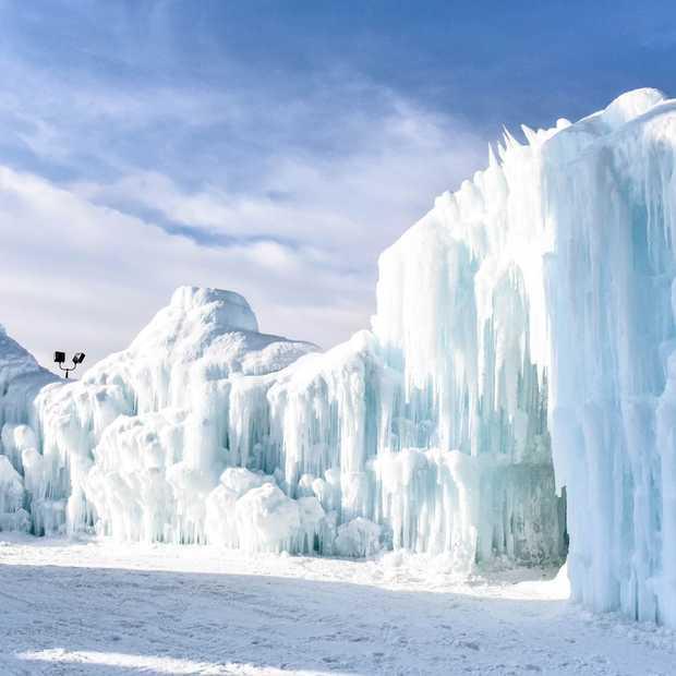 Sprookjesachtige mooi: de Edmonton Ice Castles