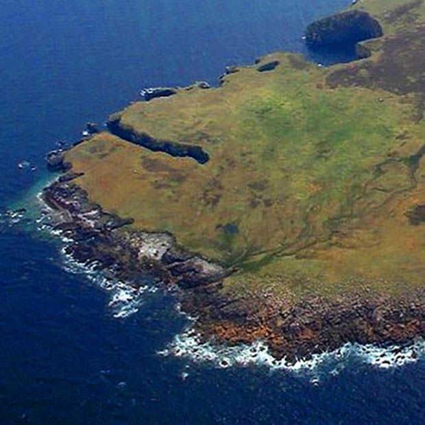 Zelf een eiland bezitten? Het Ierse 'Inishdooey Island' is betaalbaar.