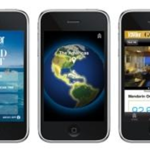 iPhone App: Conde Nast Traveler 2010 Gold List