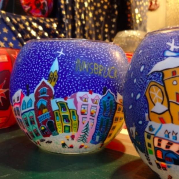 Glühwein, muziek en gezelligheid op de kerstmarkt in Innsbruck