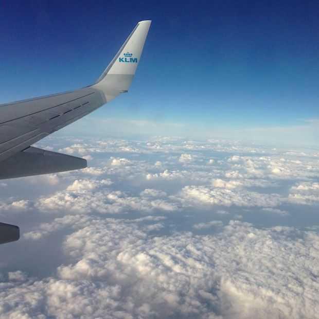 KLM laat New Yorkers en Amsterdammers elkaar live een high five geven