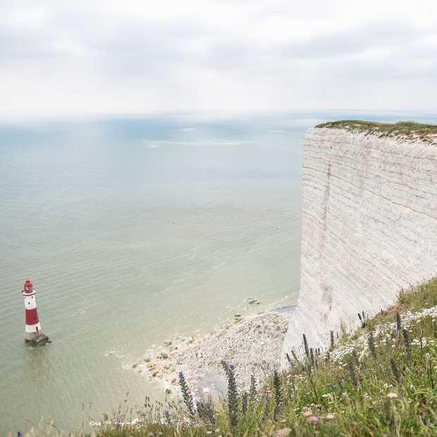 Zo mooi, de witte krijtrotsen van Beachy Head in Engeland