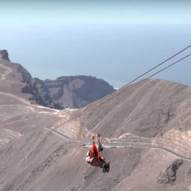 Ras al-Khaimah heeft de langste zipline ter wereld