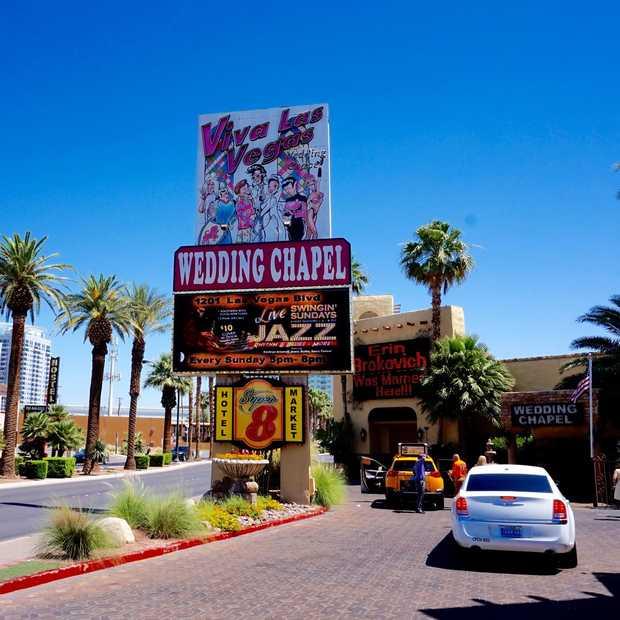 De 10 leukste plekken om te trouwen in Las Vegas