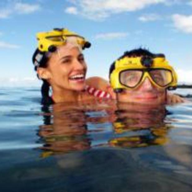 Maak geweldige onderwatervideo's met: The Videomask