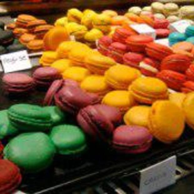 Mmmmm Macarons uit Parijs!!