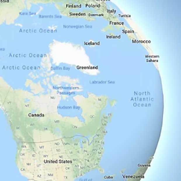 Google Maps gaat van kaart naar wereldbol