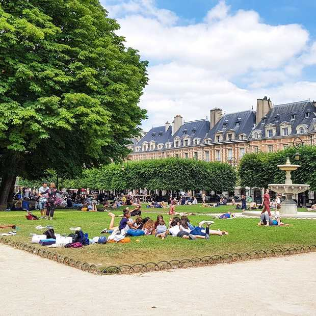 7 keer lekker eten in de Marais, Parijs