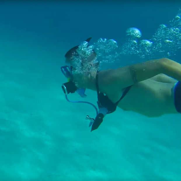 De MiniDive is een hervulbare duikerskit voor overal
