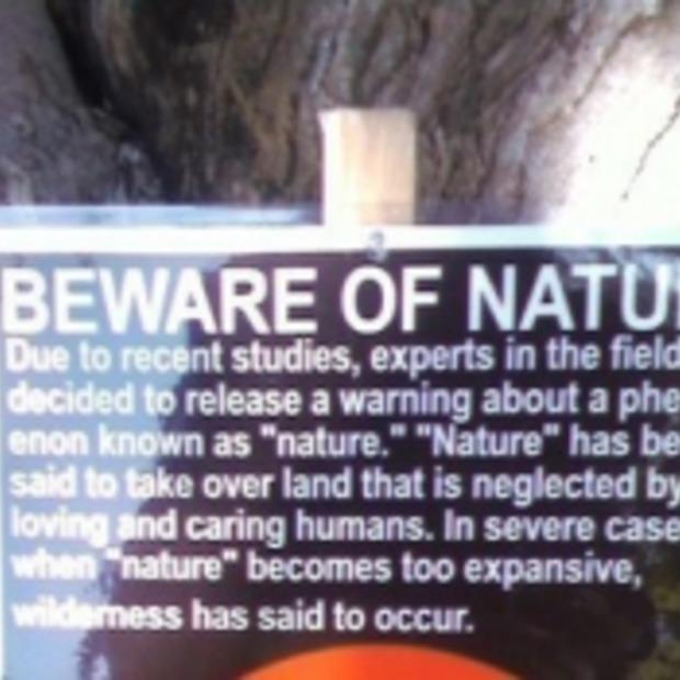 Het fenomeen 'natuur' (Funnypic)