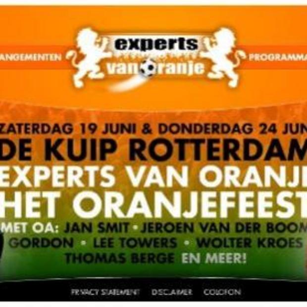 Oranjefeest 'Experts van Oranje' in de Kuip