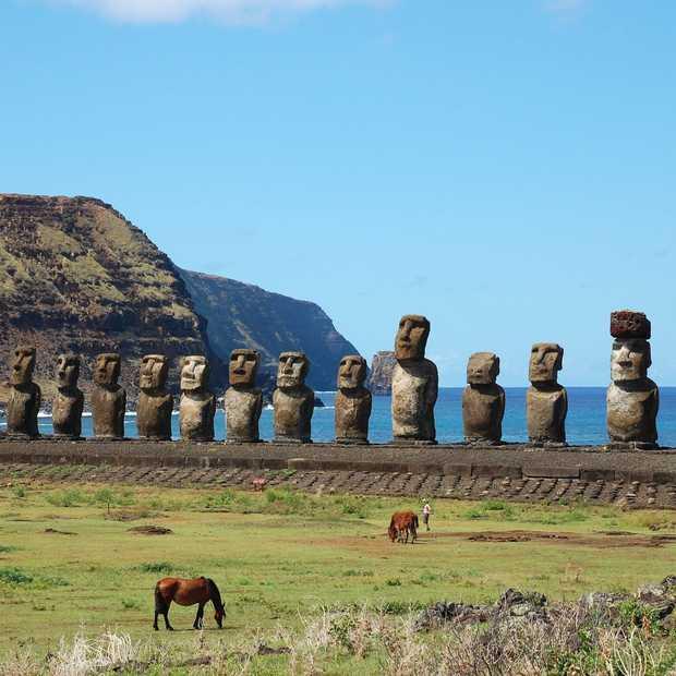 Het mysterie van de Moai: de beelden op Paaseiland