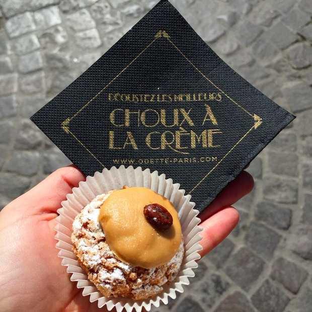 Hip in Parijs: choux à la crème