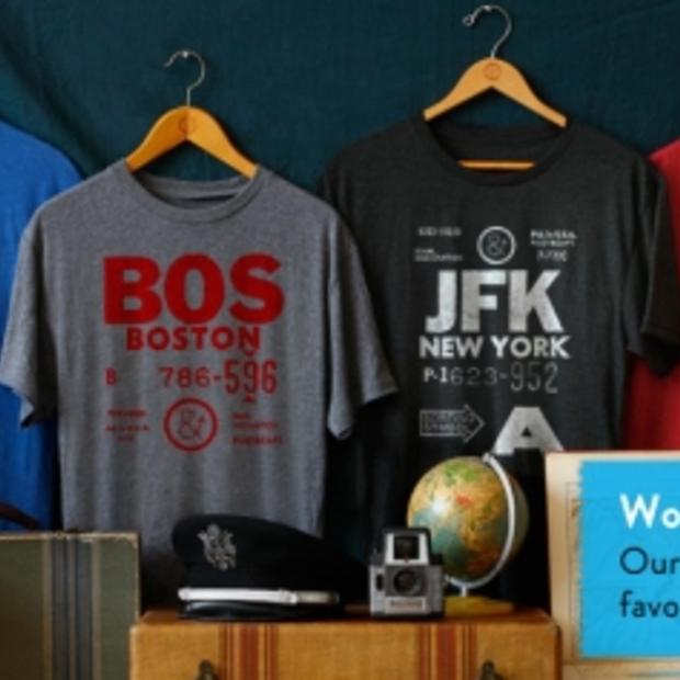 Pilot & Captain: t-shirts van jouw favoriete luchthaven
