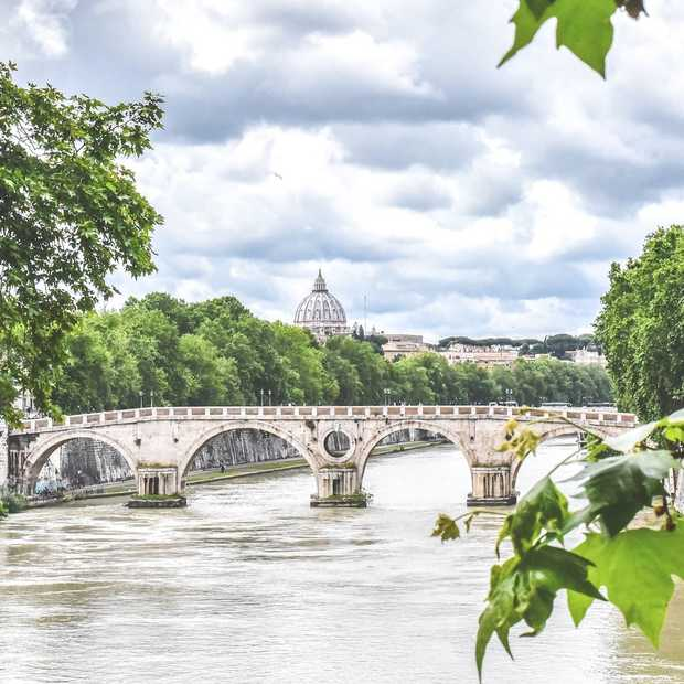 Zo ziet Rome eruit als er bijna niemand op straat is