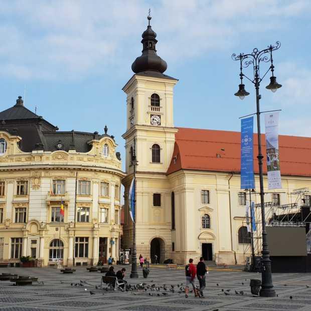 Sibiu is dé cultuurstad van Roemenië