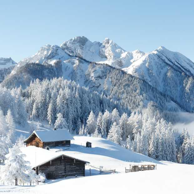 Jaloersmakende beelden van de eerste sneeuwdump in de Alpen!