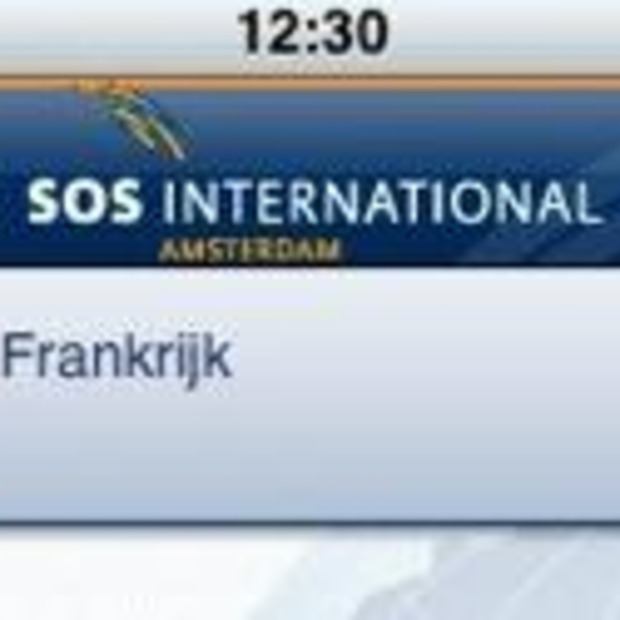 iPhone app voor de vakantieganger: SOS op reis