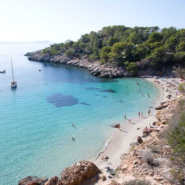 De 7 mooiste stranden van Ibiza