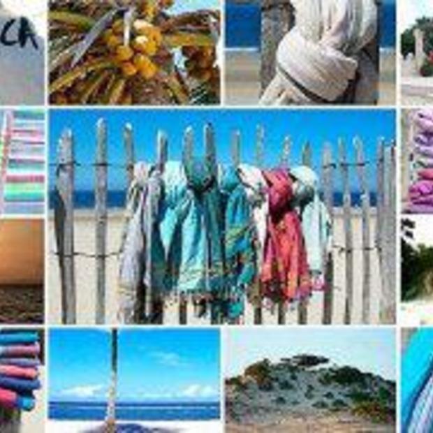 Handige en stijlvolle strandhanddoek