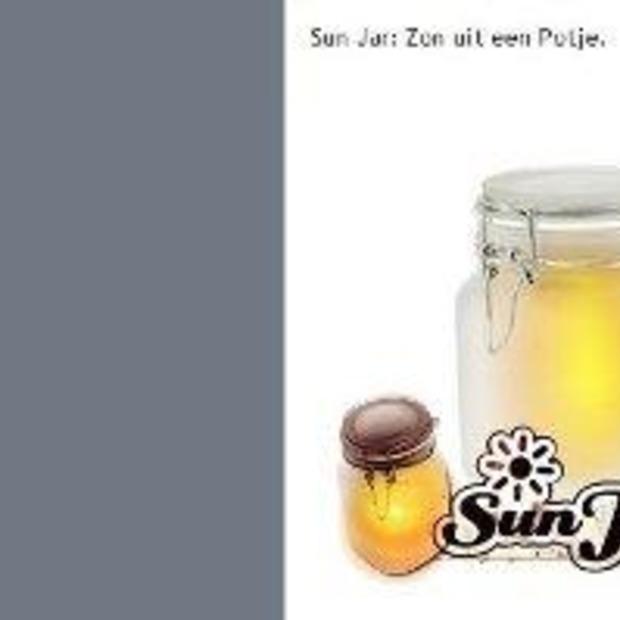 Sun Jar: zon in een potje