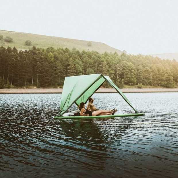 Ter land, ter zee en in de lucht: deze tent kan het allemaal