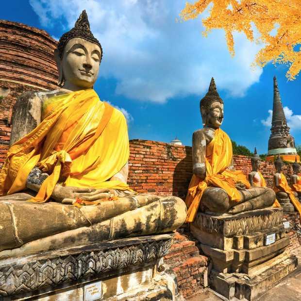 Dit is de beste route voor een reis door Thailand