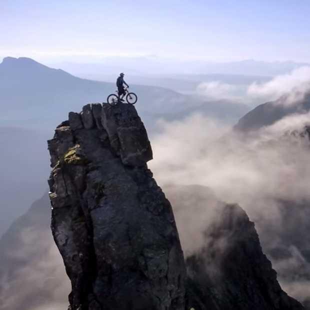 De meest bizarre 'bike ride' ooit!