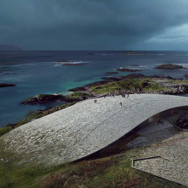 Noorwegen krijgt een waanzinnig mooi walvissenmuseum: The Whale