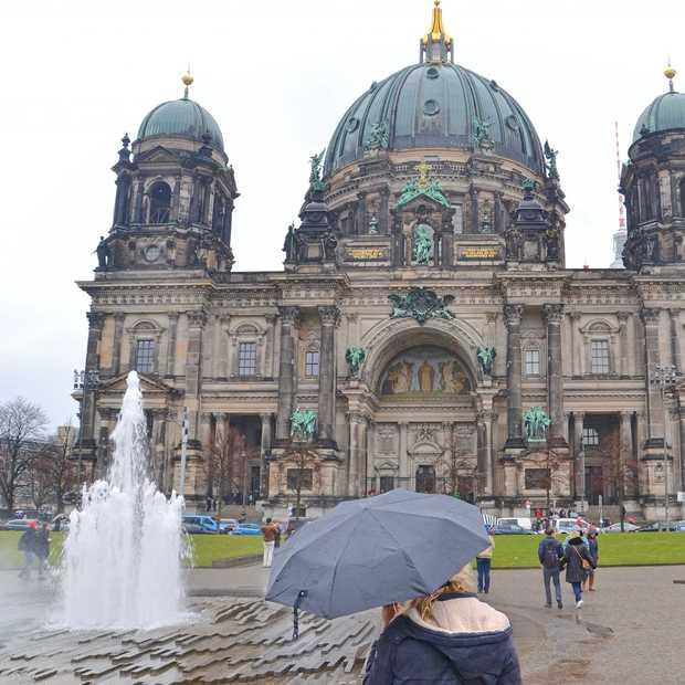 Regen in Berlijn