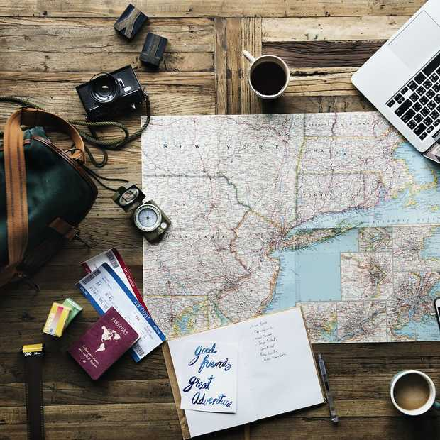 Vijf tips om te doen op de avond voor vertrek