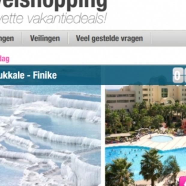 Nieuwe reisveilingsite: Travelshopping.nl