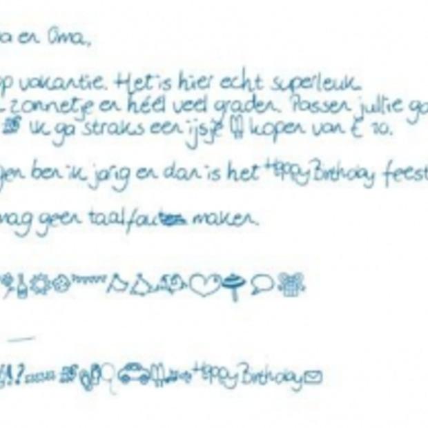 Online een handgeschreven kaartje sturen