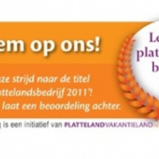 Verkiezing 'Het leukste plattelandsbedrijf van 2011'