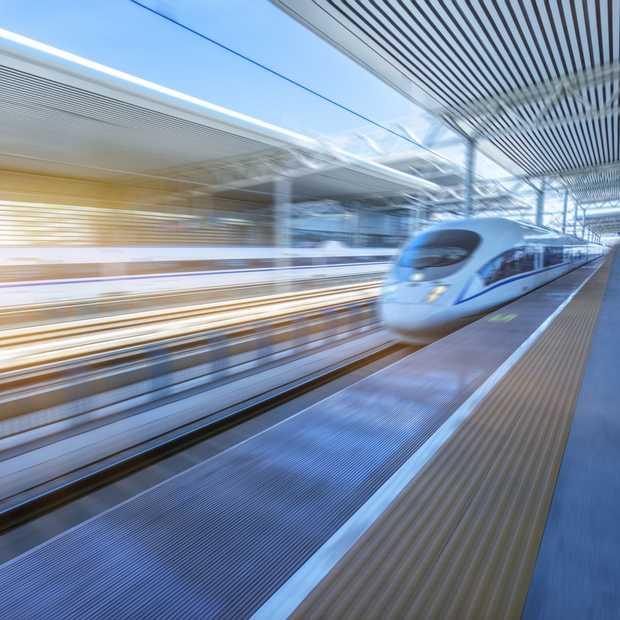 Nieuwe supersnelle trein tussen Amsterdam en Londen