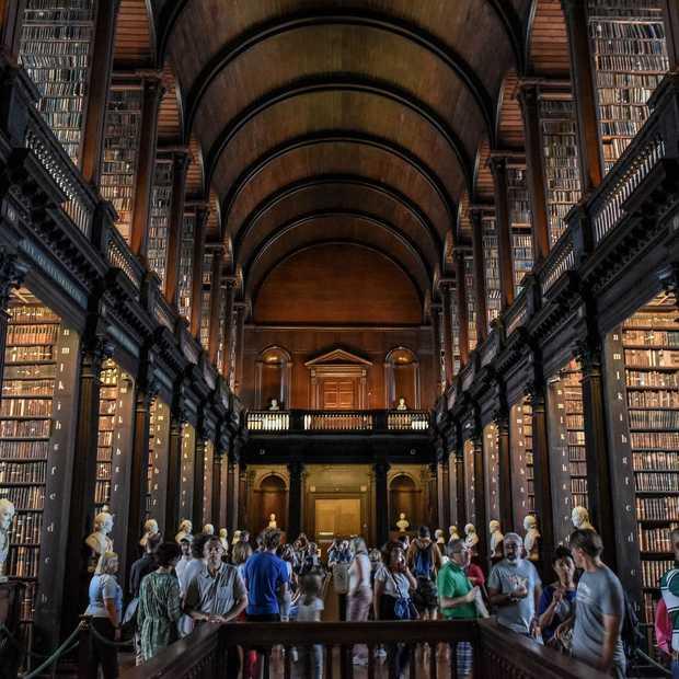 Trinity College Library in Dublin is de mooiste bibliotheek ter wereld