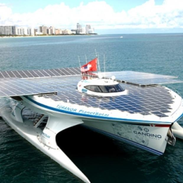 Mega Jacht op zonne-energie; Planet Solar