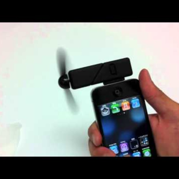 Video: Iphone dock Fan