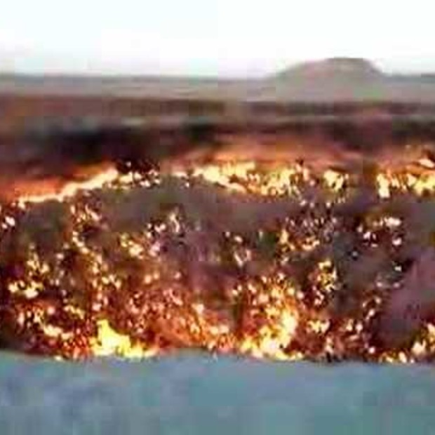 Video: Turkmenistan 'The door to Hell'