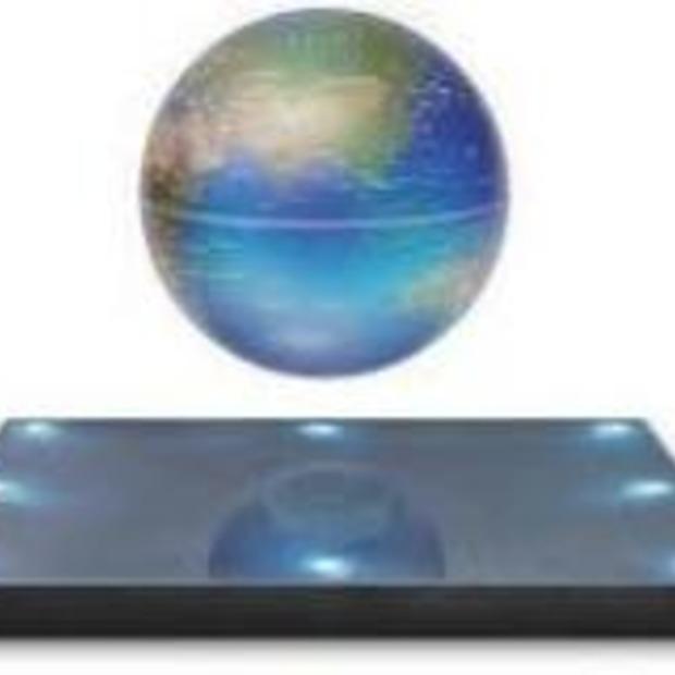 Coole gadget: de floating wereldbol!