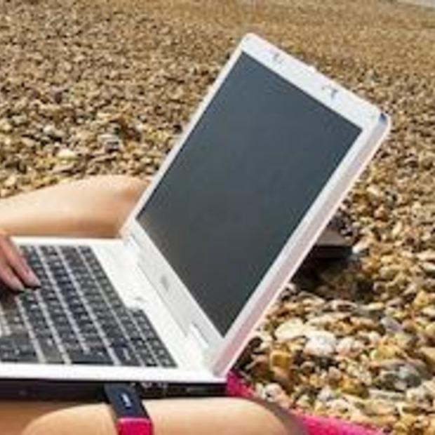 Vakantie-dongel van internet-op-reis
