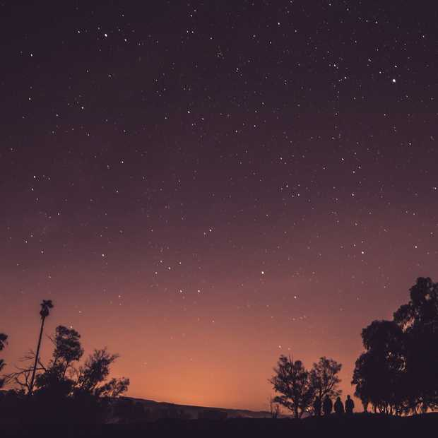Vallende sterren in Joshua Tree National Park