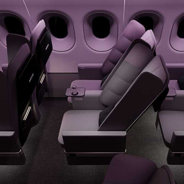 Dit nieuwe vliegtuigstoeldesign maakt slapen makkelijker