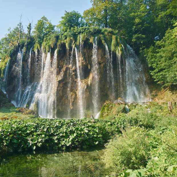 Sprookjesachtige watervallen in Kroatië (Plitvice)