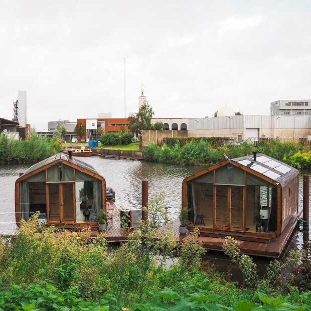 Uniek overnachten op een Wikkelboat in Den Bosch