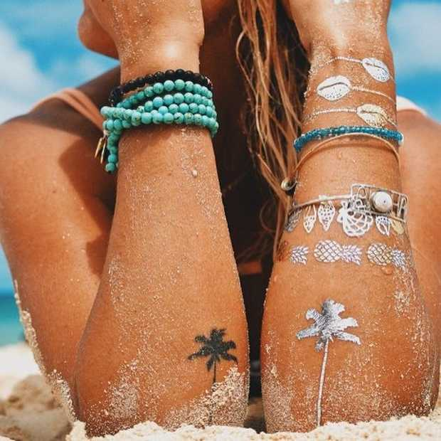 De leukste (tijdelijke) zomer tattoos!