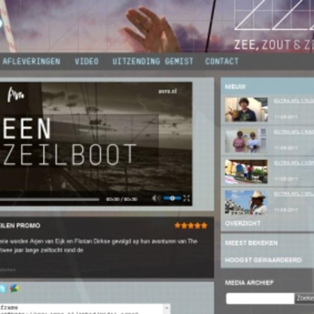 TV-Serie Zee, Zout & Zeilen bij de AVRO
